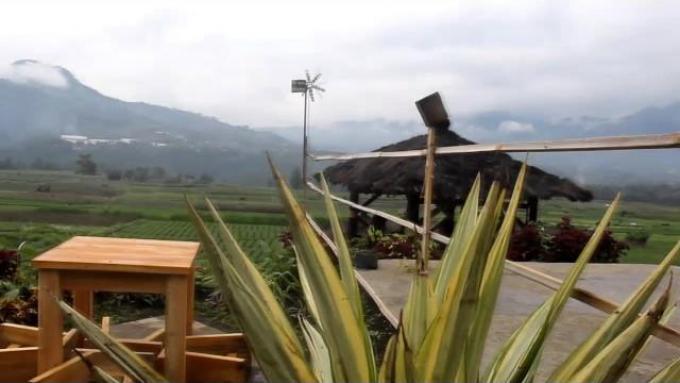 Cafe Sawah | PujonKidul - Malang Jawa Timur | Pesona tersembunyi di plosok desa