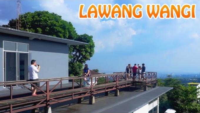 LAWANGWANGI Cafe Dago pemandangannya keren banget! (Full HD)