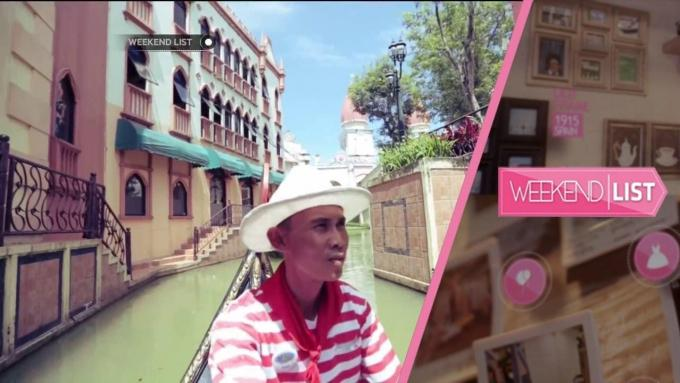 Weekend List - Little Venice Vila Kota Bunga
