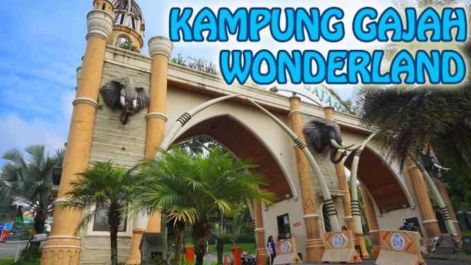 Wisata KAMPUNG GAJAH Wonderland - Bandung (FULL HD)