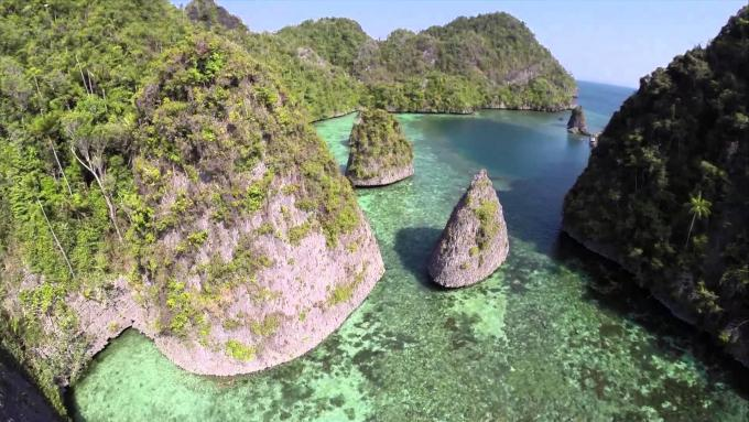 Another Aerial view from Dafalen: Part two (Misool, Raja Ampat)