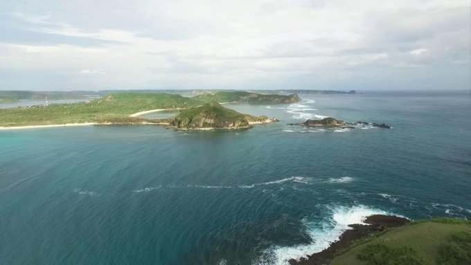Tanjung Aan - Lombok ( DJI Phantom 3 Professional)