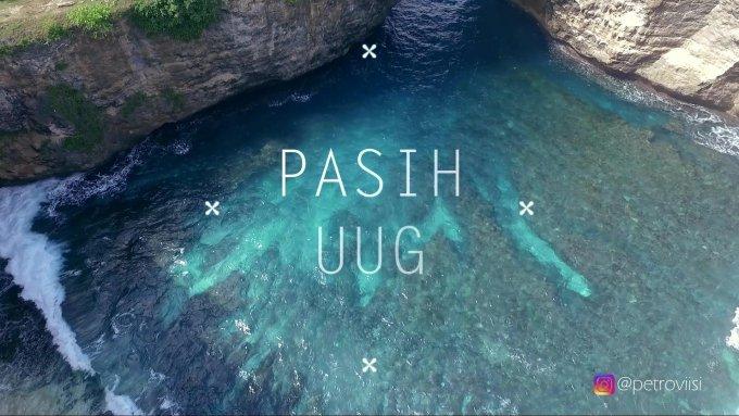 Aerial Footage: Broken Beach (Pasih Uug) - Nusa Penida, Bali
