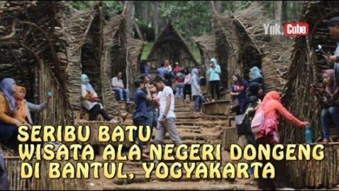 Rumah Hobit di Bantul, Yogyakarta - AudioVlog