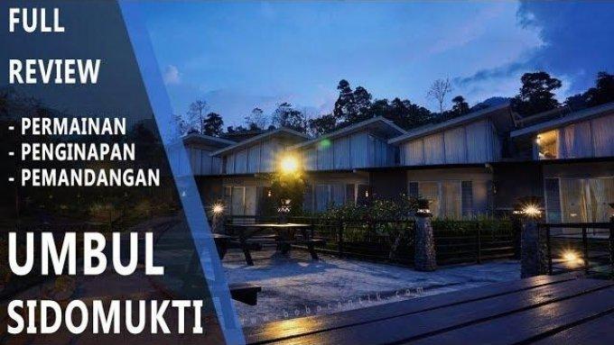 UMBUL SIDOMUKTI Review - Nginep di 'Negeri di atas awan Semarang'
