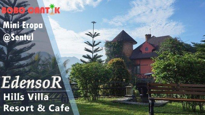 EdensoR Hills Villa Resort & Cafe, nuansa Eropa ada di Sentul!