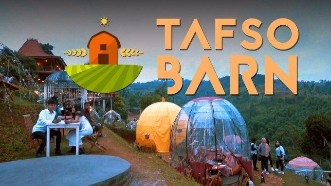 Tafso Barn Tempat Ngehits di Bandung Utara - WISATA BANDUNG