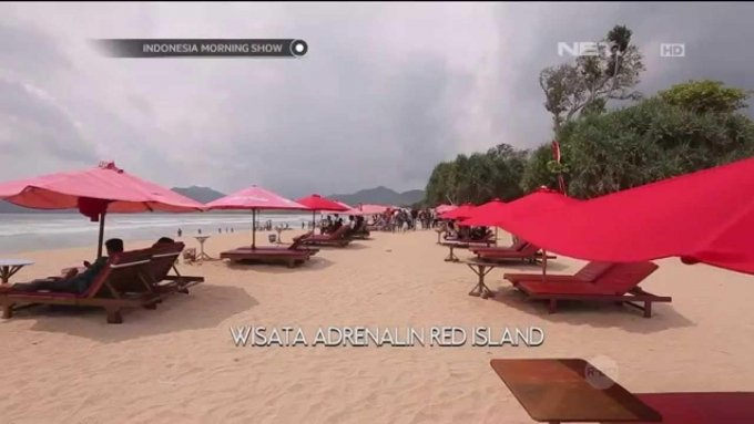 Destinasi wisata Red Island Banyuwangi - IMS