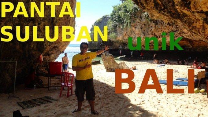 Pantai Suluban Bali atau Blue Point Beach