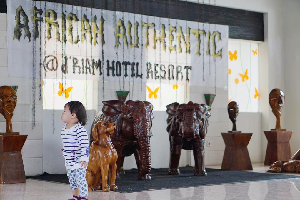 Aneka Patung Hewan Driam Riverside Hotel & Resort