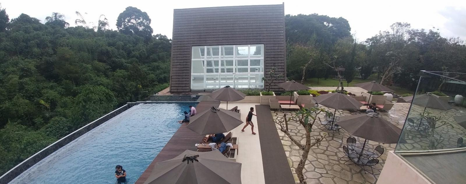 The Green Forest hotel & resort Bandung