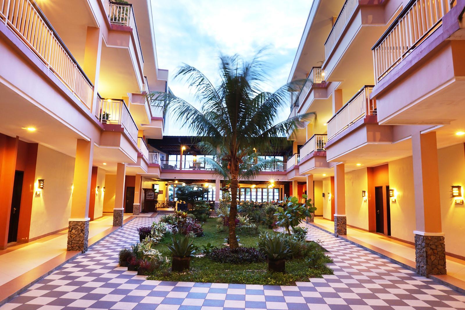 View dari Lobby Belitung