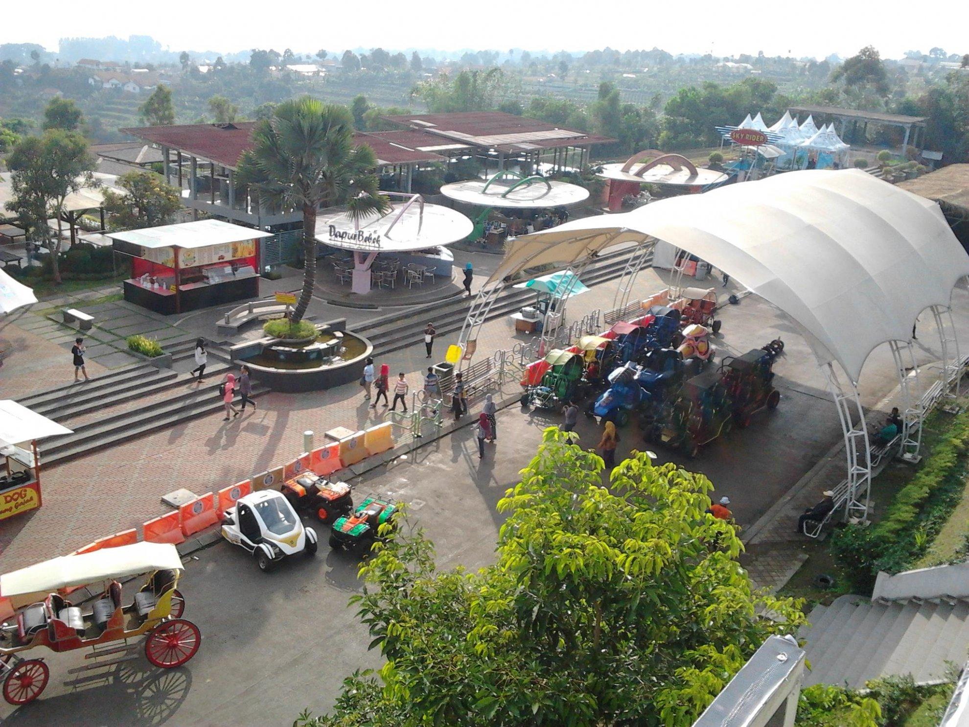 Area utama Kampung Gajah Wonderland
