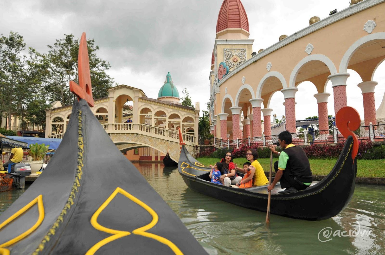 Harga tiket masuk Little Venice Kota Bunga