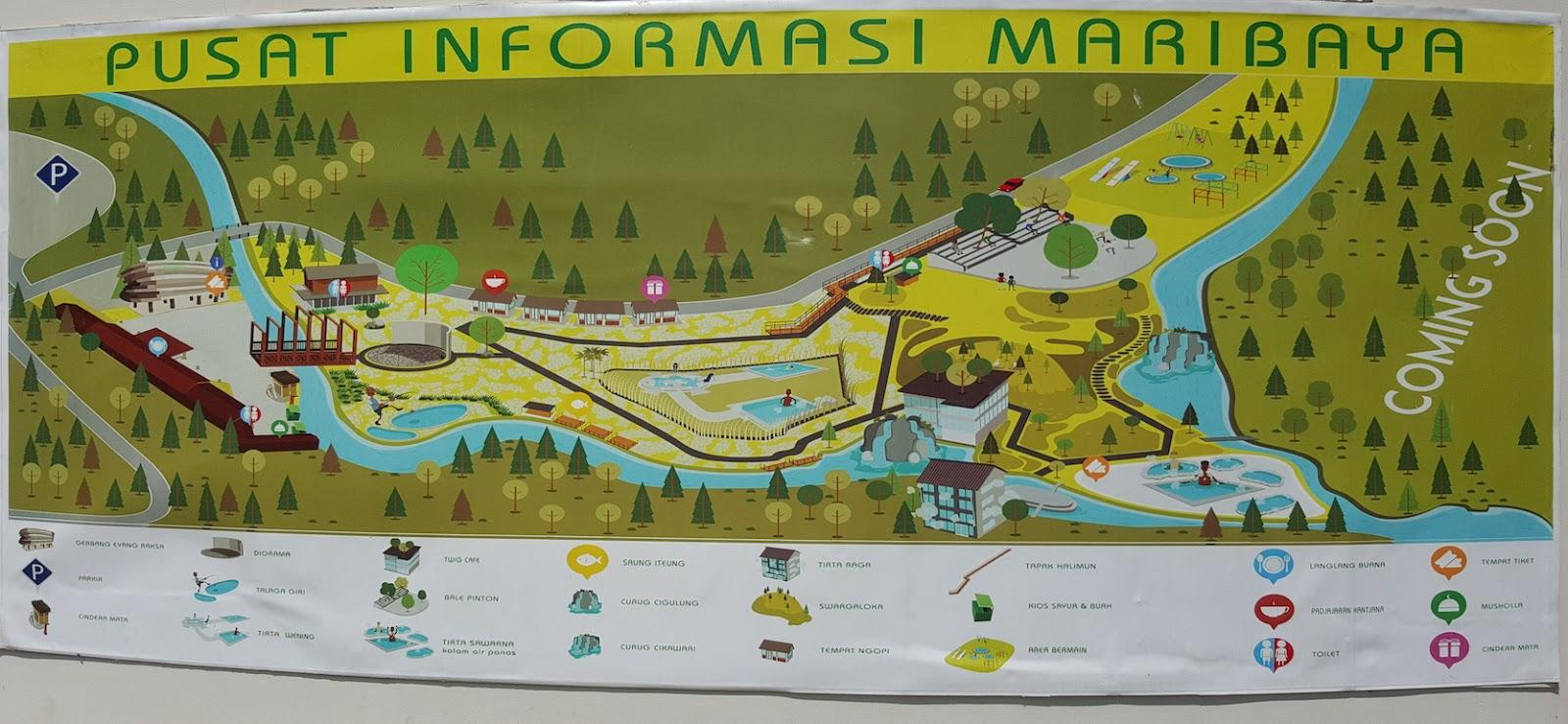 Pusat informasi Maribaya Resort