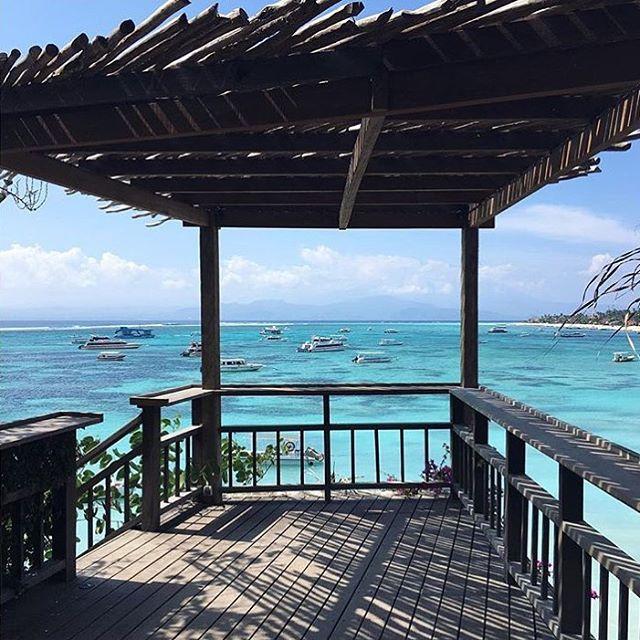 Outside deck Batu Karang Lembongan Resort & Day SPA