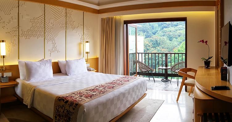 Deluxe room with balcony Padma hotel