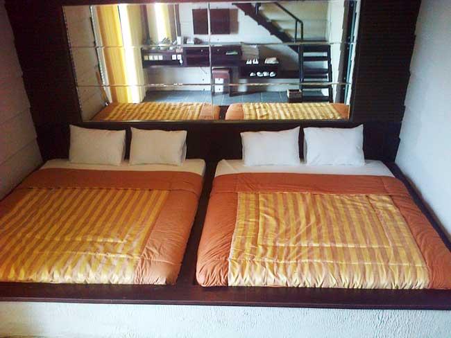 Twin room Pondok Wisata Umbul Sidomukti