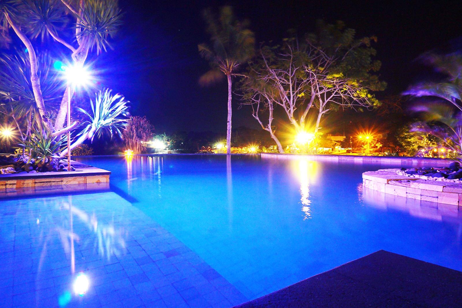 Pool at Night Sadeg Lembongan Hotel & Resort