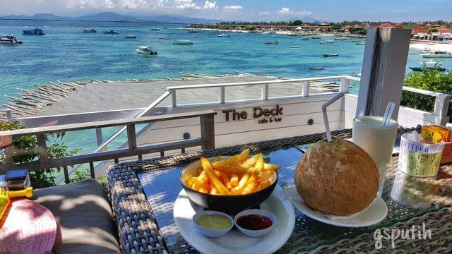 Yummy! The Deck Cafe & Bar