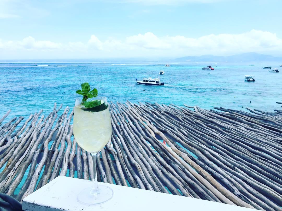 View dari cafe Batu Karang Lembongan Resort & Day SPA