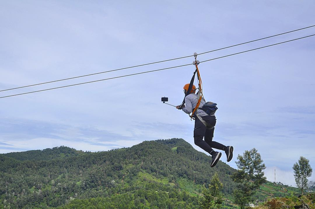 Flying Fox Batu Pandang Ratapan Angin