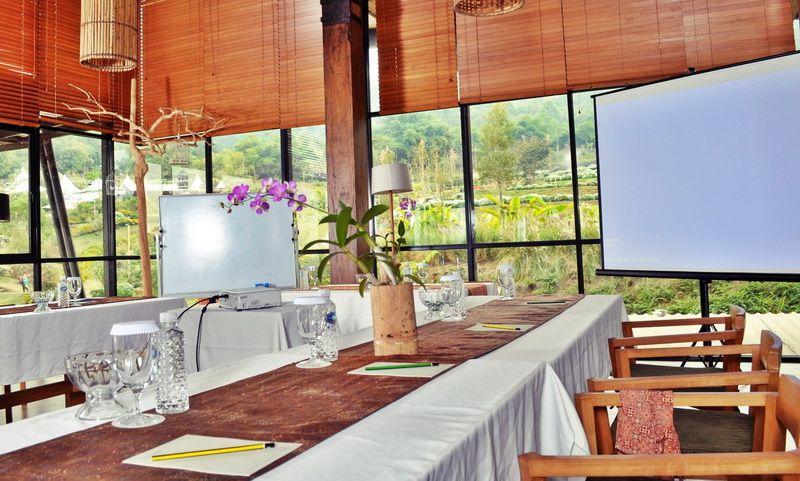 Meeting venue Dusun Bambu