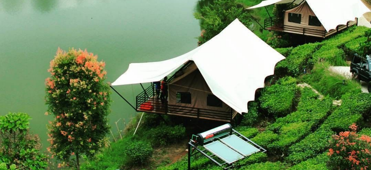 Lakeside tent Glamping Lakeside Rancabali