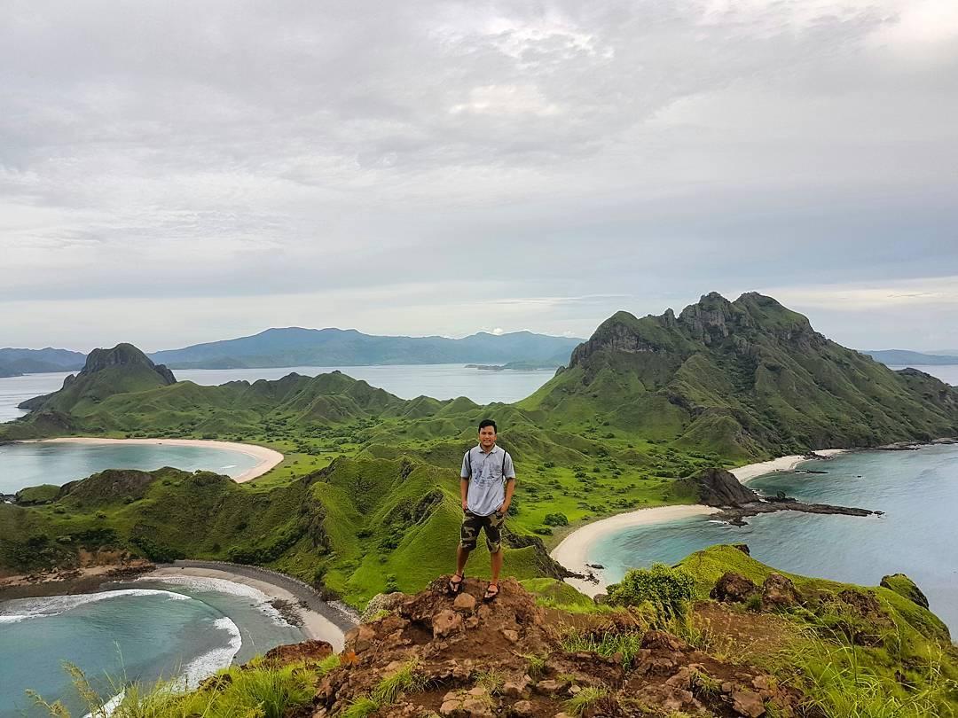 View dari puncak Labuan Bajo