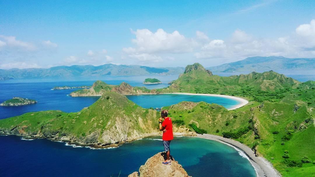 The view Pulau Padar