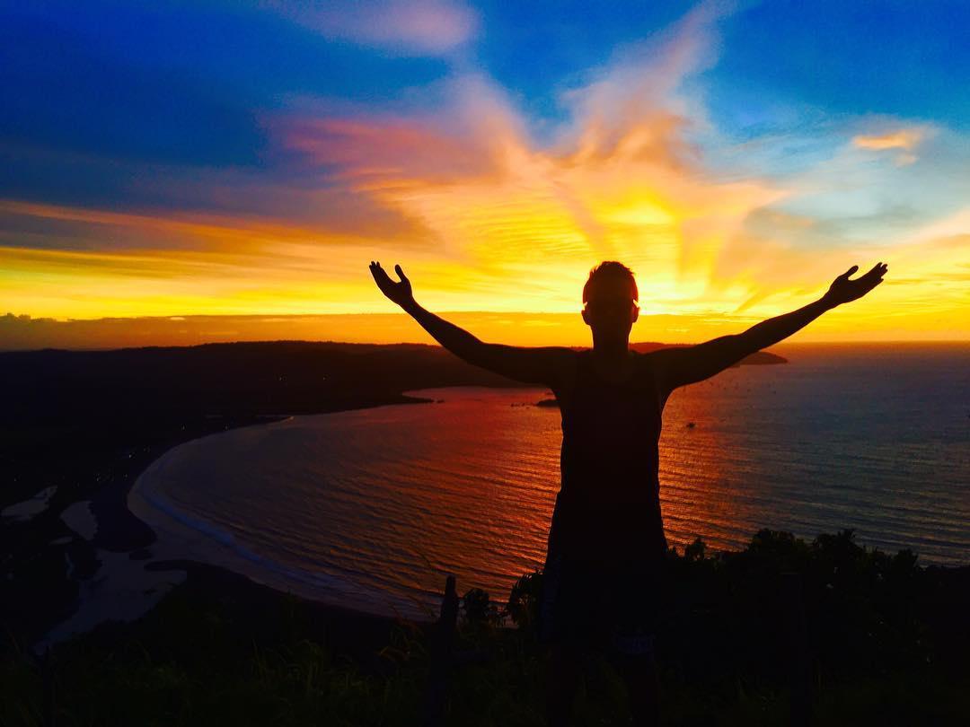Sunset Puncak Darma Ciletuh Geopark