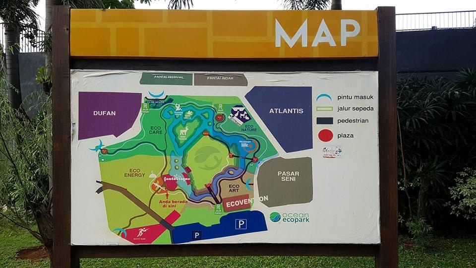 Map Ocean EcoPark