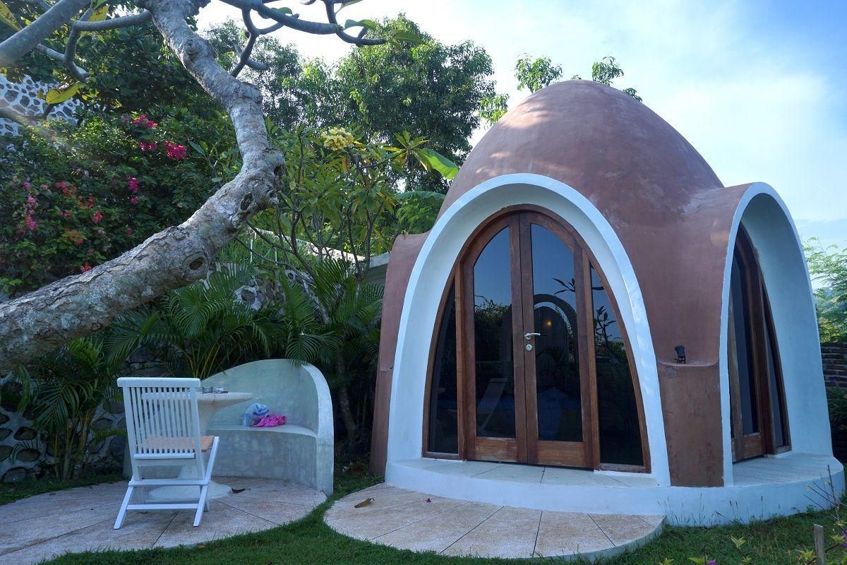 Mentigi Bay Dome Villa, type Coco  Dome, villa untuk 2 orang Lombok