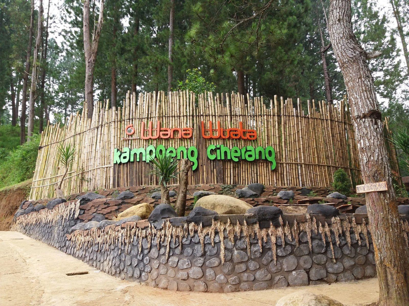 Wana Wisata Kampoeng Ciherang Sukabumi