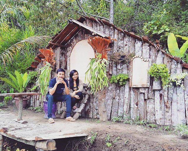 Rumah Hobbit Ngasem Park foto oleh @wisatangasempark Ngasem Park