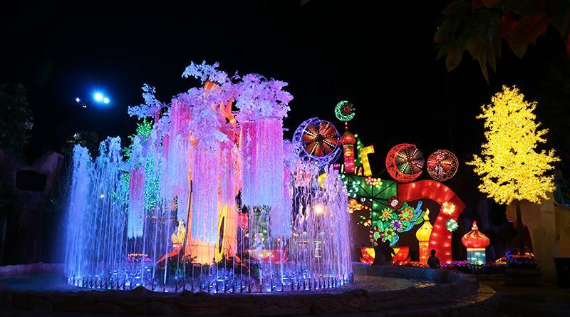 Magical Journey di Malang Night Paradise Malang