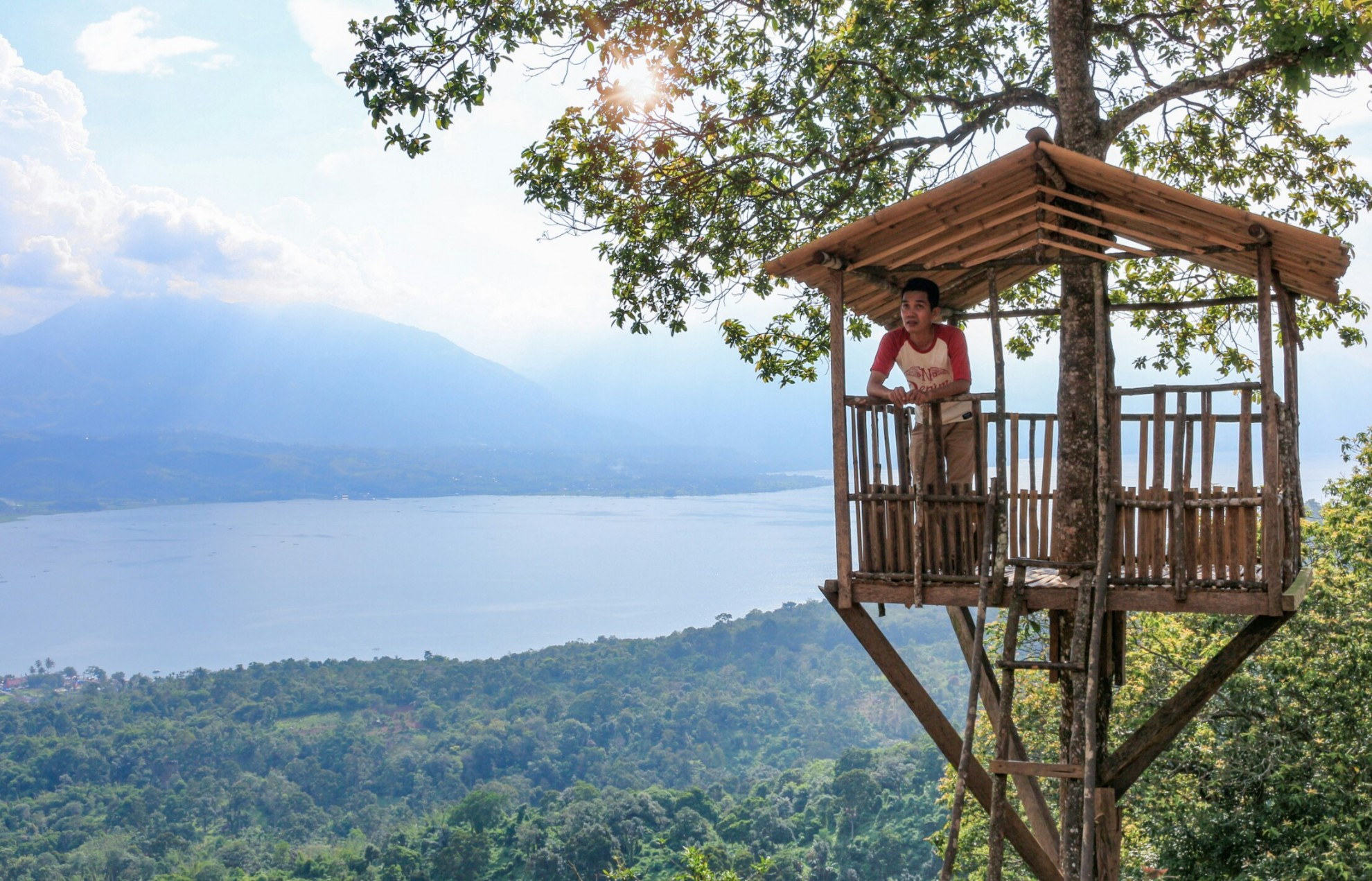 Rumah Pohon Gobah Aripan Padang